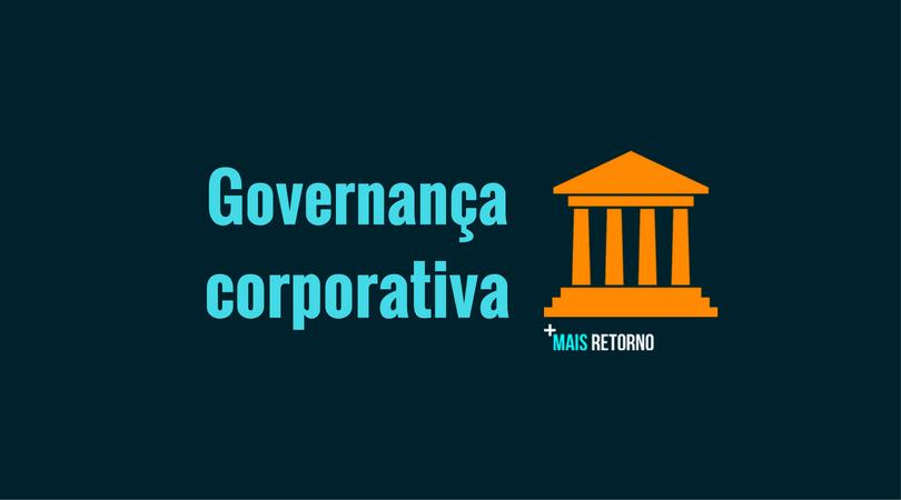 O que é governança corporativa