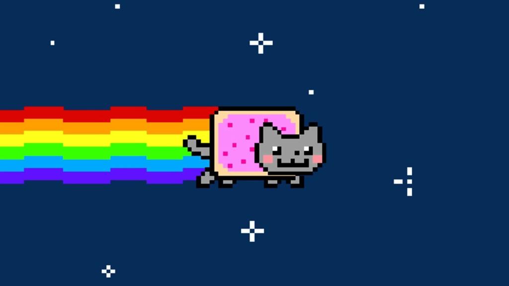 Meme do gatinho tem versão criptografada em NFT nada mais é do que um código baseado em blockchain