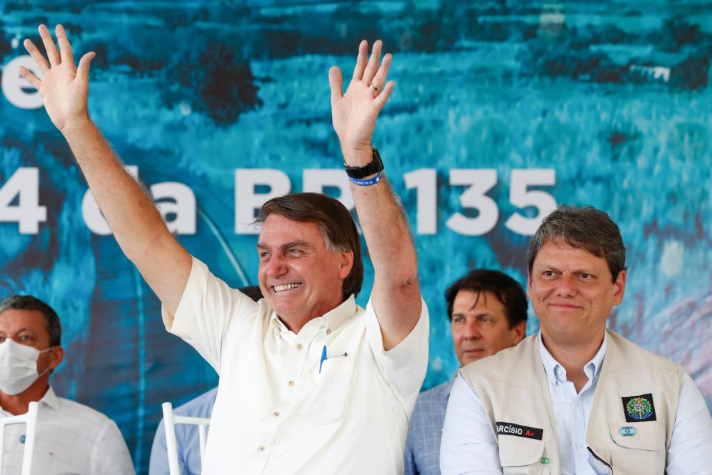 Ministro da Infraestrutura, Tarcísio de Freitas, afirmou que a pasta deve promover leilões de mais 22 ativos até o final do ano