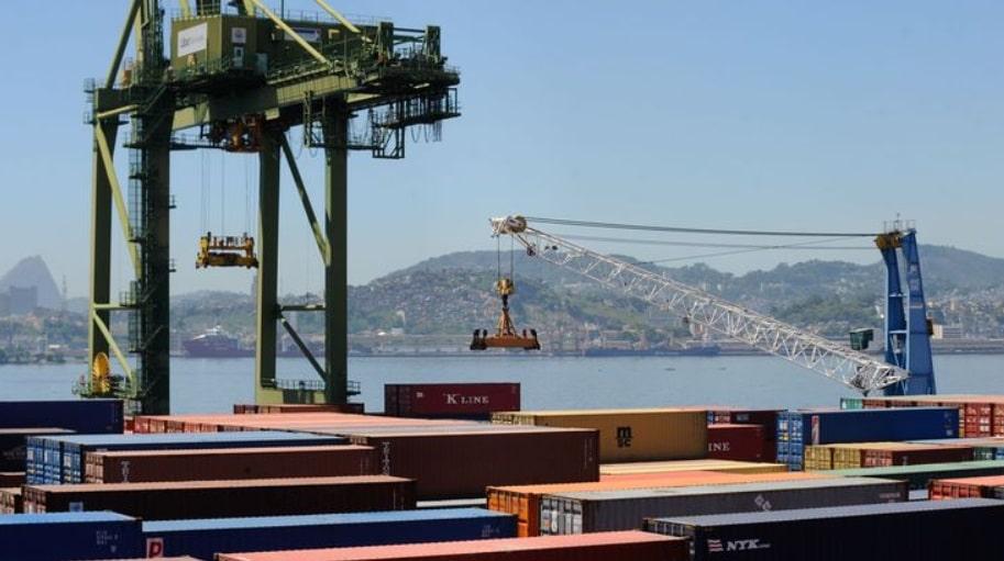 exportações de commodities