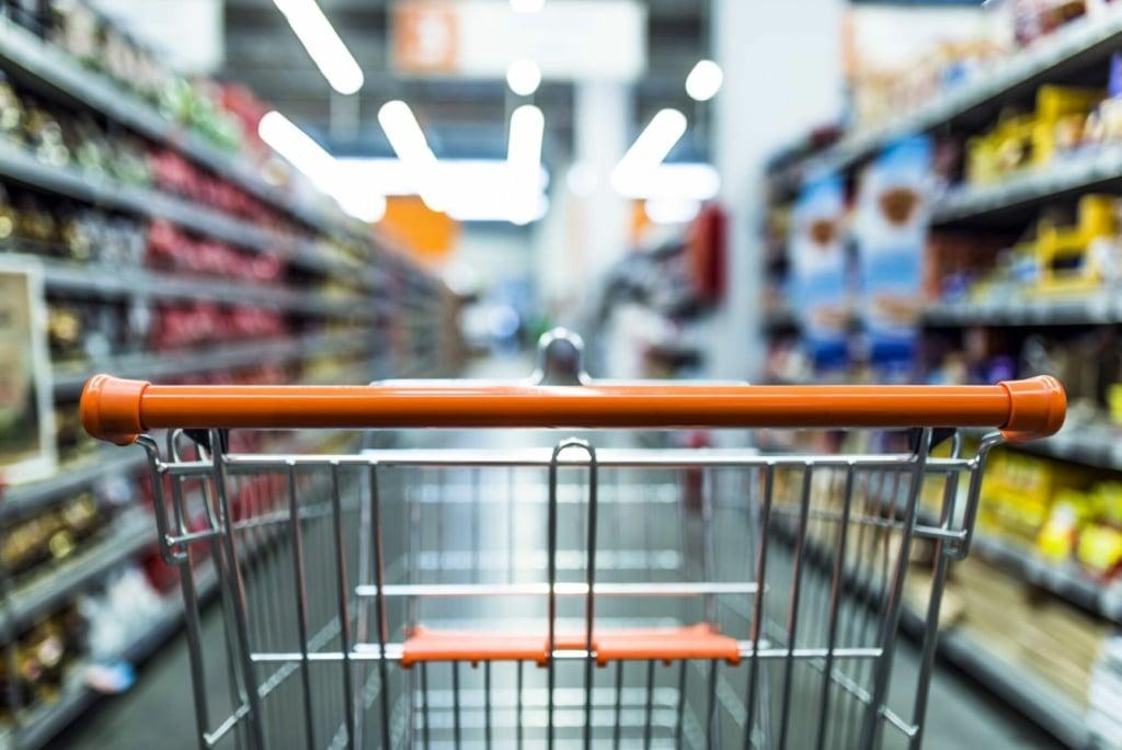 vendas dos supermercados