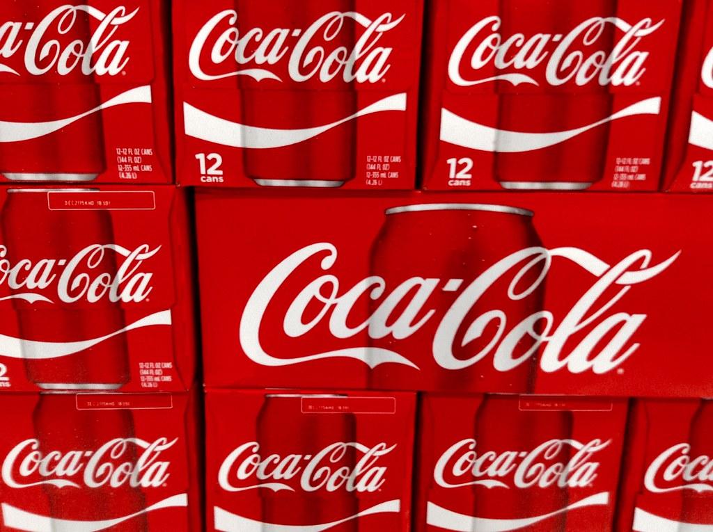 ações da coca cola