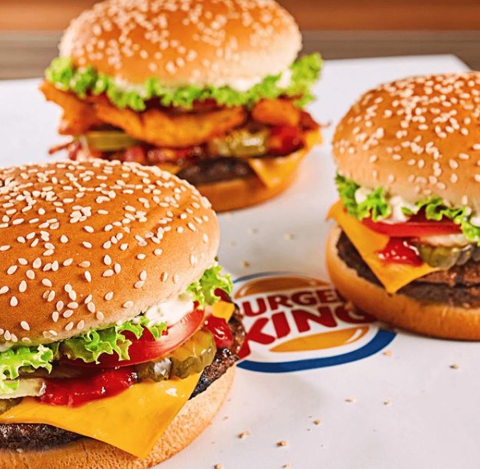 Foto: Burger King/Instagram
