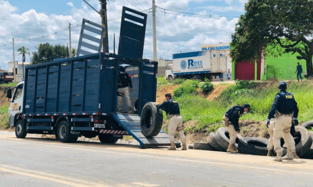 bloqueios em rodovias